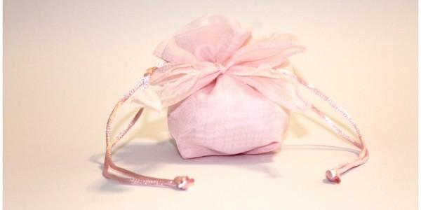 Sacchettini Confetti – Salesiani per il Sociale – Rosa