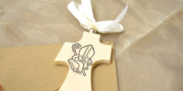 Ceramica – Salesiani per il Sociale – Croce stilizzata Cresima