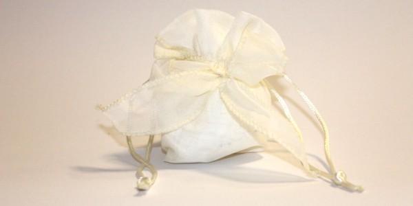 Sacchettini Confetti – Salesiani per il Sociale – Bianco