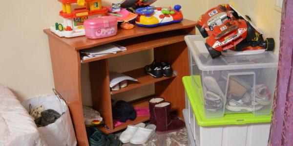 Una delle stanzette dei bimbi