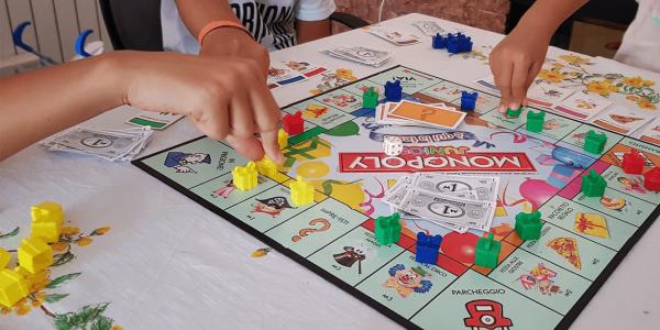 Il gioco in famiglia – Stella del Cammino