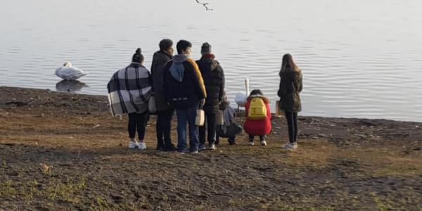 I bambini della casa famiglia a mare – Stella del Cammino