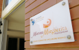 """L'ingresso della casa famiglia """"Mamma Margherita"""" a Cagliari"""
