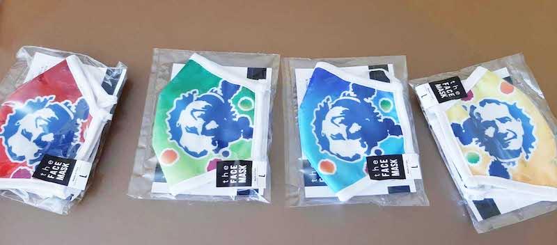 Le mascherine personalizzate donate da Salesiani per il Sociale