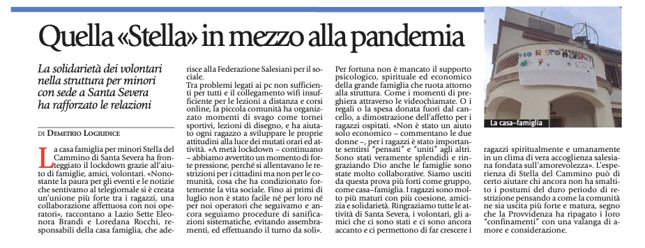 Articolo-Avvenire-Stella-del-cammino-28.09.2020